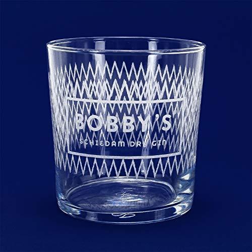 XXL-Drinks Bobby´s Schiedam Dry Gin Glas Trinkglas Cocktailglas Gin & Tonic Gläser Ginglas