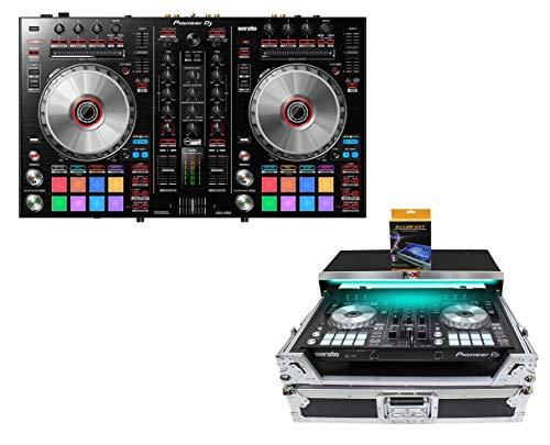 Review Pioneer DDJ-SR2 DDJSR2 DJ Controller for Serato DJ+ ProX Case w/Shelf & LED Kit