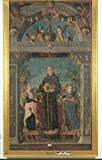 St Bernardine of Siena and Angels Poster Drucken (60,96 x