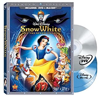 Blu-ray Snow White and the Seven Dwarfs (Three-Disc Blu-ray/DVD Combo + BD Live w/DVD packaging) Book