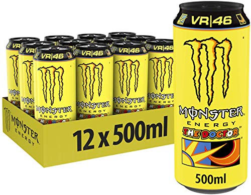 Monster Valentino Rossi - The Doctor V, 12er Pack, EINWEG (12 x 500 ml)