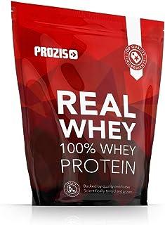 Prozis 100% Real Whey Protein 400 g: Suplemento puro en polvo. Disfruta del batido con sabor a Fresa y Banana más delicioso del mercado. Con un perfil completo de aminoácidos y rico en BCAA. 16 D