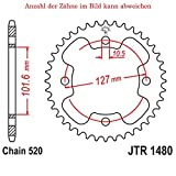 jtSprockets JTR1480-37 - Rueda de cadena para bicicleta Outlaw 450 MXR 2008-2010 (37 dientes)