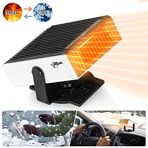 Car Heater Portable Car Defroster Defogger 12V Truck Car Heat Cooling Fan 150W 3-Outlet Plug USB