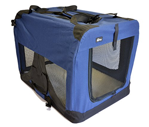 topPets Portable Soft Pet Carrier - Large:...