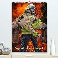 Feuerwehr - Einsatz am Limit (Premium, hochwertiger DIN A2 Wandkalender 2022, Kunstdruck in Hochglanz): Der Feuerwehrkalender Einsatz am Limit fuer die Mannschaft, Wache und das Buero. (Monatskalender, 14 Seiten )