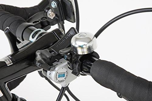Grandir(グランディール)ロードバイク700Cシマノ21段変速[サムシフター]2WAYブレーキシステム搭載フレームサイズ520GrandirSensitiveブラック[520]