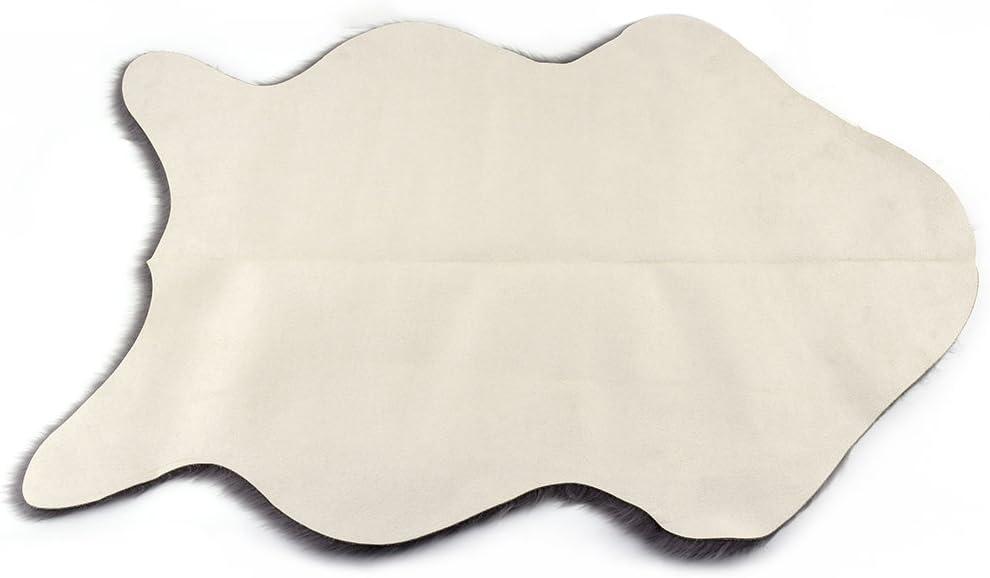 lavable Jet/é de chaise Maistore super doux imitation peau de mouton pour chambre /à coucher.