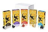 Consolo - càpsules de cafè compatibles amb Nespresso* - Kit de degustació, 50 càpsules (*5x10)