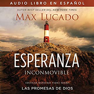 Esperanza inconmovible [Unshakable Hope] audiobook cover art