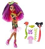 Monster High Monster High-DVH70 Barbie Muñeca clawdeen, Electro-Peinados, (Mattel DVH70)