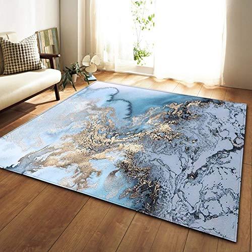 Abstrakte Marmor Kinder Bereich Teppich rutschfeste Boden Weiche Ruhen Fußmatten Für Wohnzimmer Esszimmer,E,160x120cm