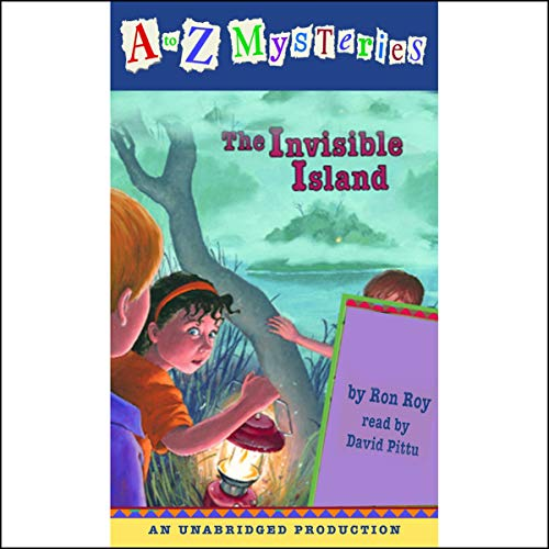 A to Z Mysteries: The Invisible Island  By  cover art