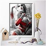 Margot Robbie Sexy Harley Quinn Leinwand Malerei Wandkunst