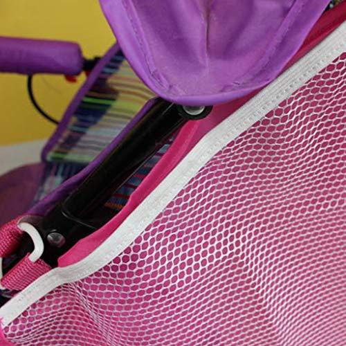 S-TROUBLE Poussette de bébé Sac de Rangement latéral Tissu Oxford Imperméable à l'eau Pratique Transport de bébés Sacs Suspendus