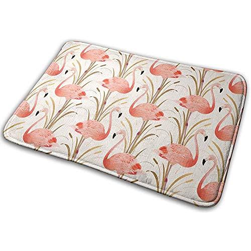 FANCYDAY Deur Vloer Mat Gebied Tapijt Anti-Skid Voet Pad Flamingo Absorptie Deurmatten Thuis Badkamer Entry Clean Stap 50x80CM