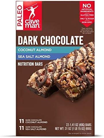 Caveman Dark Chocolate Coconut Almond Sea Salt Almond 22 Ct product image