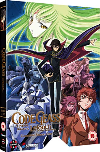 Code Geass: Lelouch of the Rebellion: Complete Season One - DVD