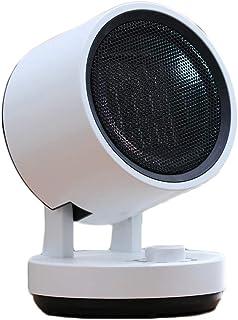 Moolo Mini Calentadores eléctricos, 3 Segundos PTC Calefacción rápida 3 Engranajes Ahorro de energía Control de Temperatura Radiador portátil (220V, 750W)