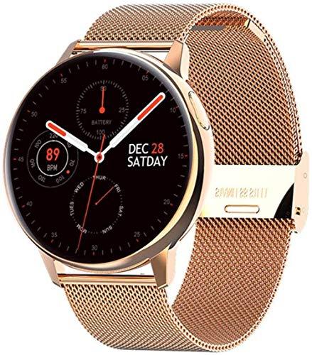 ZHICHUAN S30 Full Circle Full Touch Reloj inteligente para hombre, ECG, monitoreo de temperatura corporal, recordatorio de SMS, larga espera para Samsung F Classic