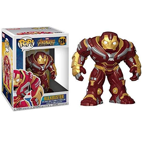 wjf Anime Avengers Iron Man Puppe Kind Modell Spielzeug 10 cm