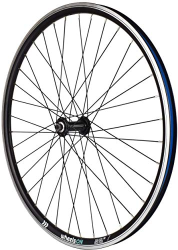 wheelsON 26 inch Front Wheel Hybrid/Mountain Bike Rim-Brake 36H Black Quick Release