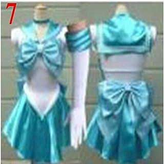7 estilos Sailor Moon Cosplay disfraz uniforme disfraces Sango ...