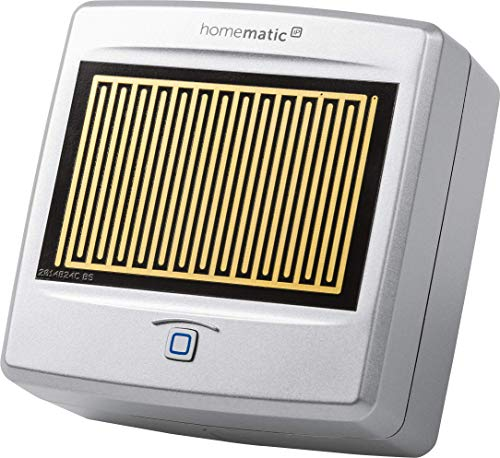 Homematic IP Smart Home Regensensor, sofort informiert bei Regen und Schnee, 154826A0