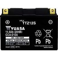 台湾製 バイクバッテリー 国内液入 初期補充電済 YUASA 純正互換品 (TTZ12S / YTZ12S / FTZ12S 互換)