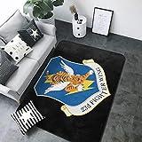 Air Force 23rd Fighter Wing super suave personalizado alfombra decoradora piso alfombra antideslizante y alfombra 203 x 147 cm alfombra de salón