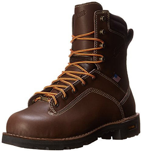 Danner Men's Quarry USA 8-Inch BR AT Work Boot,Brown,12 D US
