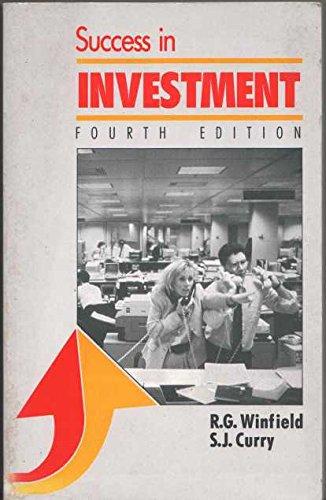 Success in Investment (Success Studybooks)