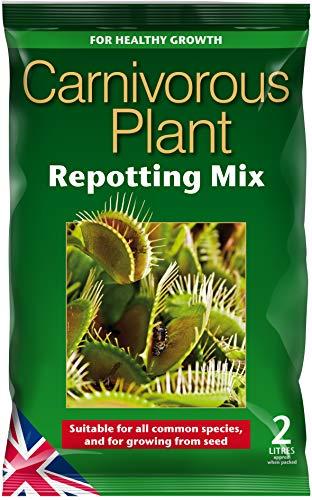 Carnivorous Focus Repotting Mix Mischung für fleischfressende Pflanzen, zum Umtopfen, 2 l