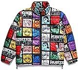 Cazador para hombre Hunter X Hunter Parachute Jacket, Multicolor, XXX-Large