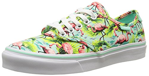 Vans Camden Deluxe, Damen Sneakers, Mehrfarbig (Flamingo/Mint), 40.5 EU
