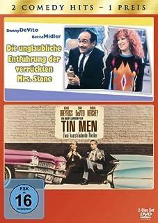 Die Unglaubliche Entführung der verrückten Mrs. Stone / Tin Men - Zwei haarsträubende Rivalen, 2 DVDs