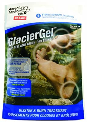 Adventure Medical Kits GlacierGel Blister and Burn Dressing by Adventure Medical Kits