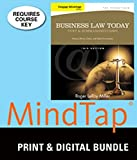 Bundle: Cengage Advantage Books: Business Law Today, The Essentials: Text and Summarized Cases, 10th + MindTap Business Law, 1 term (6 months) Printed Access Card