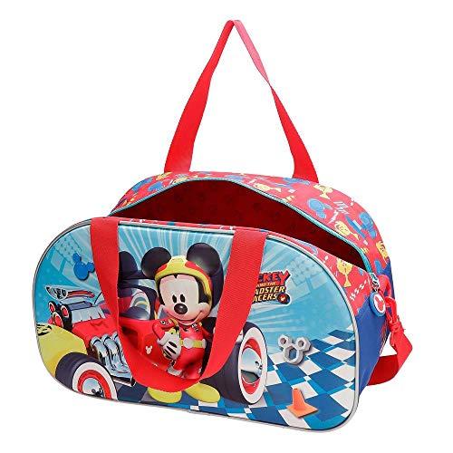 Disney Mickey Winner Borsa da viaggio Multicolore 44x25x22 cms Poliestere 24.2L