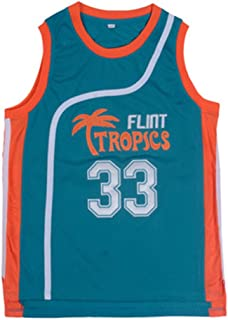 33 Basketball Jersey/Movie Version 33 Jersey Retro Mesh Vest Embroidery Basketball Clothing/Comfortable Soft/Daily, Training, Competition M-XXXL