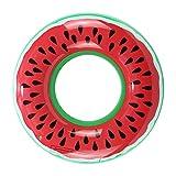 Ducomi Gonfiabili Mare e Piscina per Adulti e Bambini, Materassino Mare, Grande Ciambella Gonfiabile, Salvagente Gigante Ruota Pneumatico, Unicorno, Anguria, Materassino Gonfiabile (Watermelon)