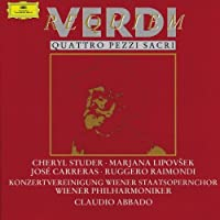 Verdi: Requiem / 4 Sacred Pieces by Studer (2002-11-21)