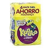 Kandoo Toallitas Húmedas Para Bebé Aroma Melón - 4 Paquetes ( Toallitas), 240 Unidad