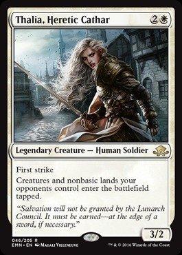 Magic: the Gathering - Thalia, Heretic Cathar (046/205) - Eldritch Moon by
