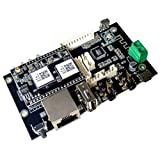 WiFi & Bluetooth Audio Preamplifier Board, Wireless multiroom/multizone Home Stereo HiFi Music Receiver Circuit Module with Airplay,Spotify.Remote Control for DIY Speakers - Arylic Up2stream Pro V3