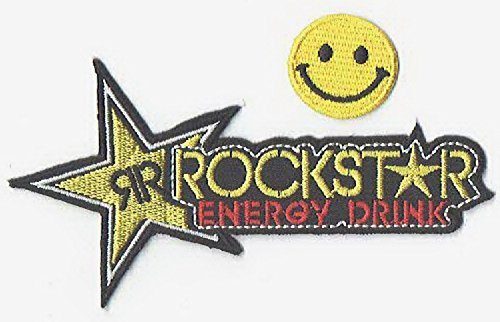 ROCKSTAR ENERGY DRINK applique ricamato su patch di PATCH CUBE