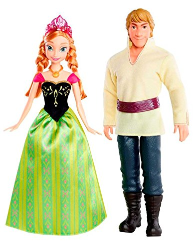 Mattel Disney Princess CMT82 – Anna et Kristoff.