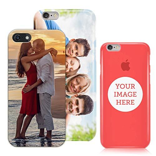 LaMAGLIERIA Carcasa Personalizada para iPhone - Phone Case Personalizada con tu Propia Foto, Logotipo o Texto - Apple iPhone 6/6s - Funda Personalizada rígida
