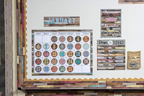 Teacher Created Resources Home Sweet Classroom Calendar Bulletin Board (TCR8855) Photo #5