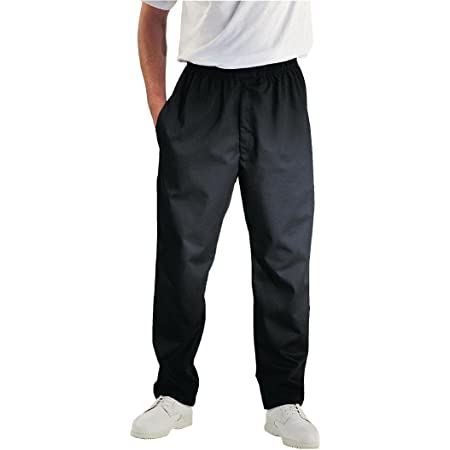 Chef Works A029-XS Easyfit Pants, Black